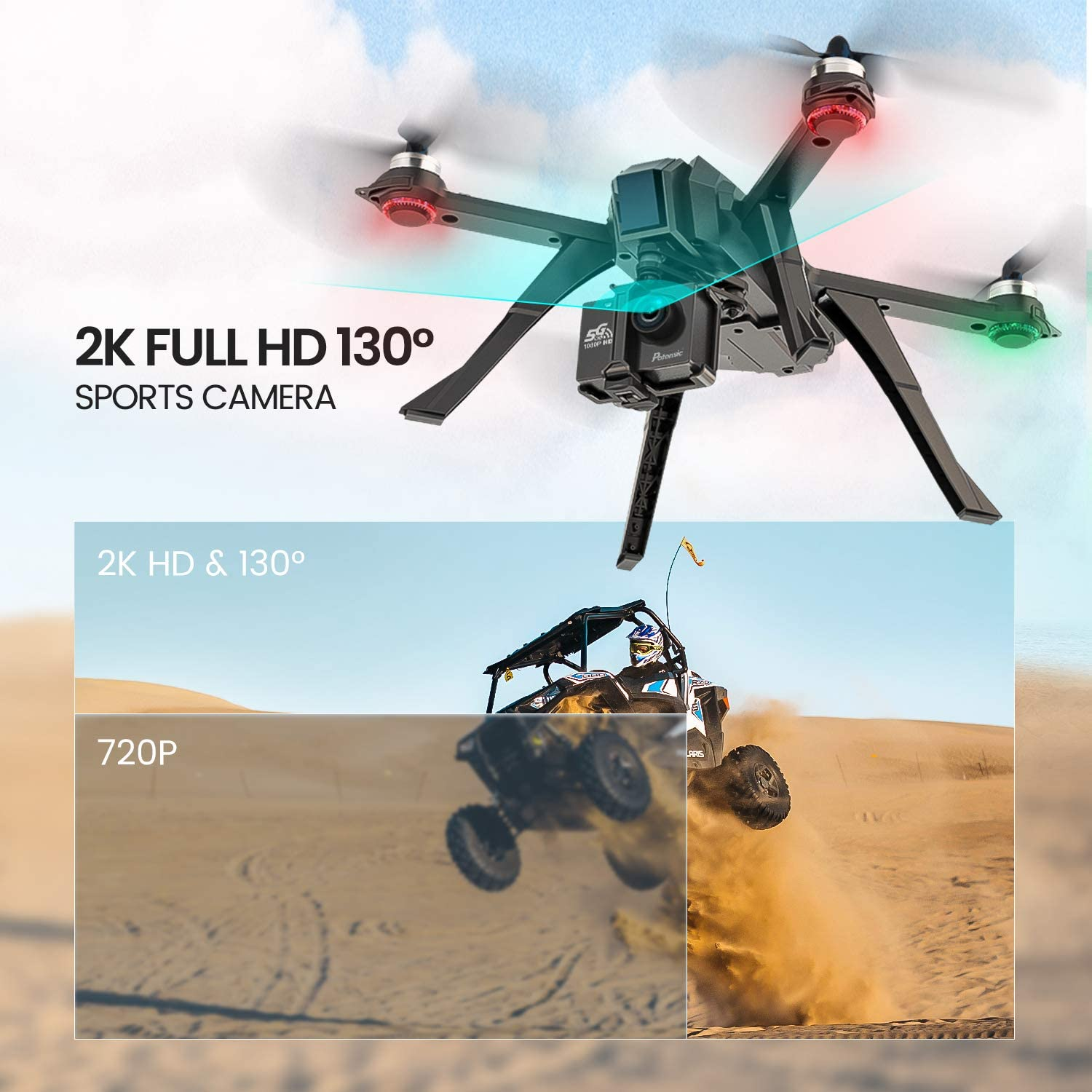 Potensic D85 is at #7 for best drones under 300 dollars