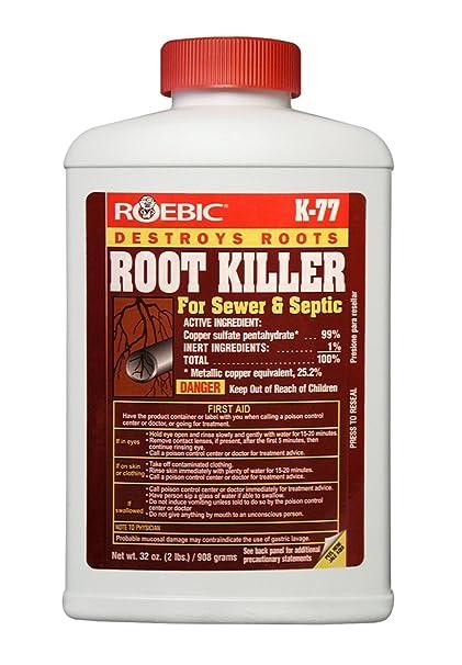 Amazoncom Roebic Laboratories K 77 Root Killer 32oz Home Improvement