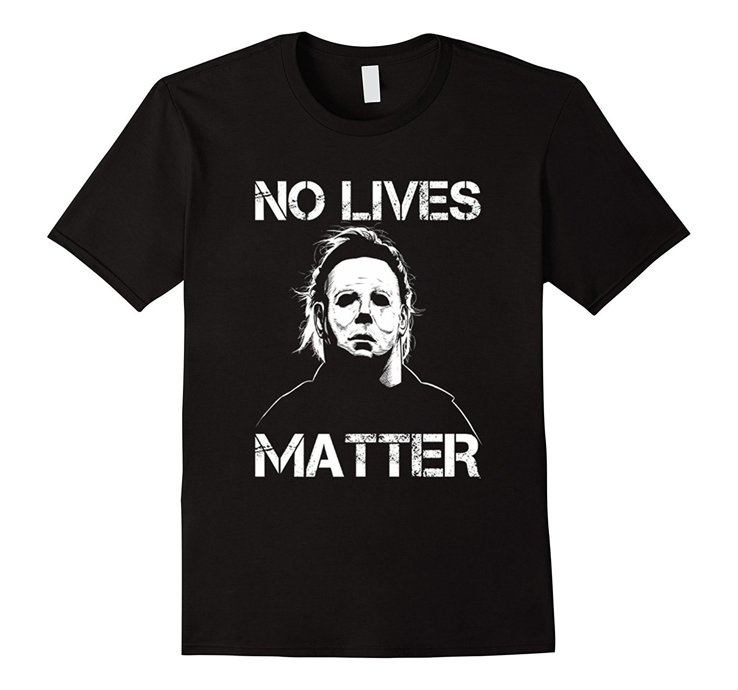 No Lives Matter Funny Halloween Shirt Mike Myers Tee