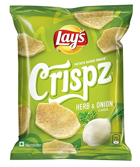 Lay's Crispz, Herb and Onion, 52g