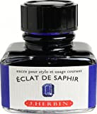 J. Herbin 13016T - Tinta para pluma (30 ml), color azul zafiro