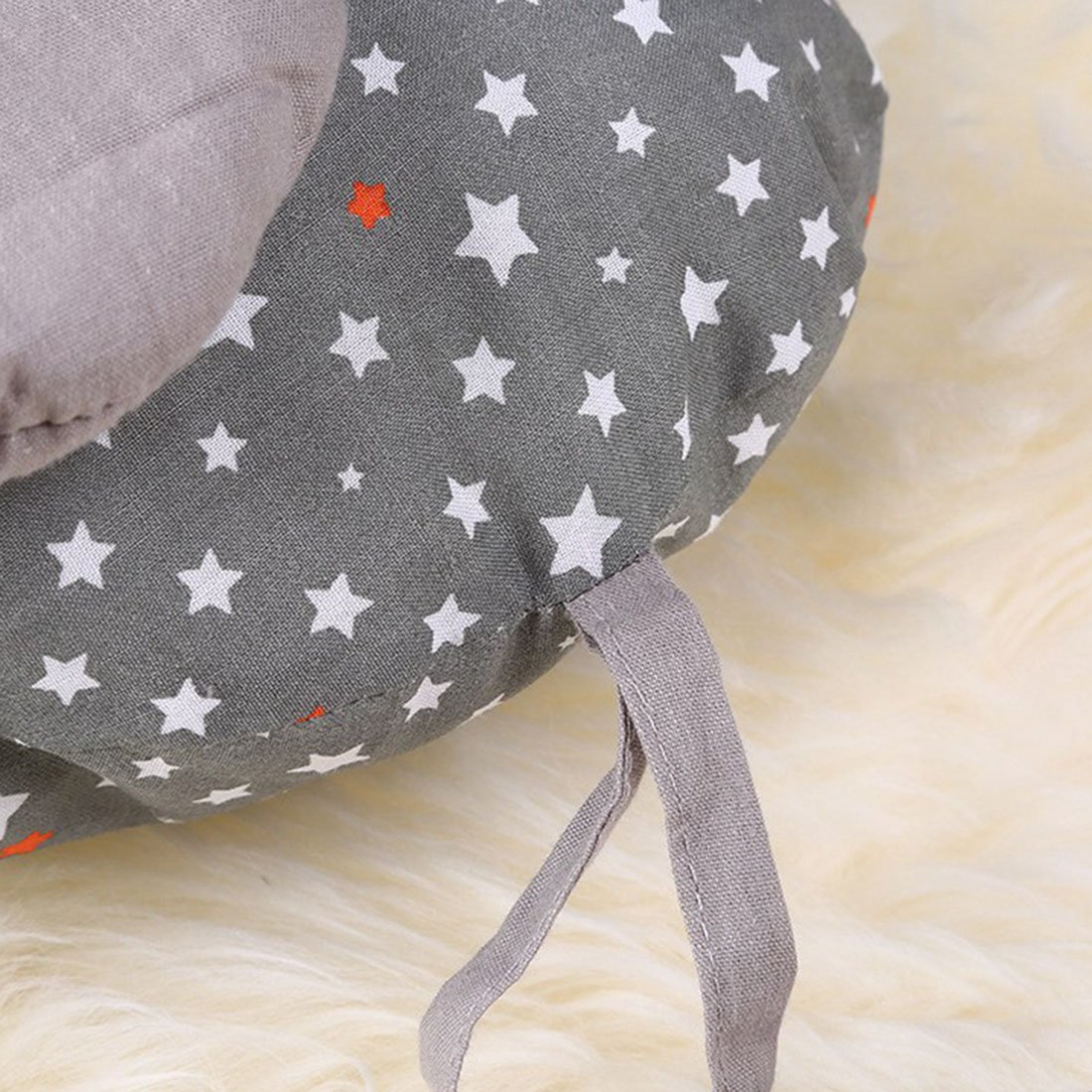 Freahap Cot Bumpers 6Pcs Cute Elephant Bumpers for Crib Baby Head Protect #1