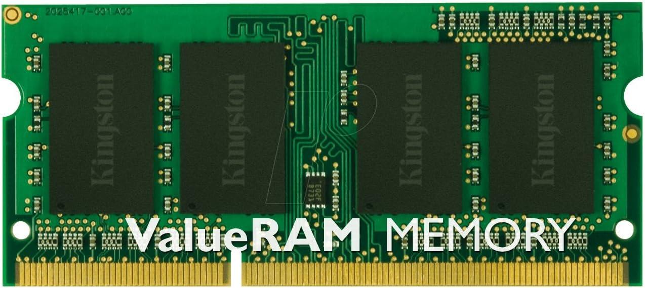 Kingston Technology KVR16LS11/4 4GB 1600MHz DDR3L PC3-12800 1.35V Non-ECC CL11 SODIMM Intel Laptop Memory