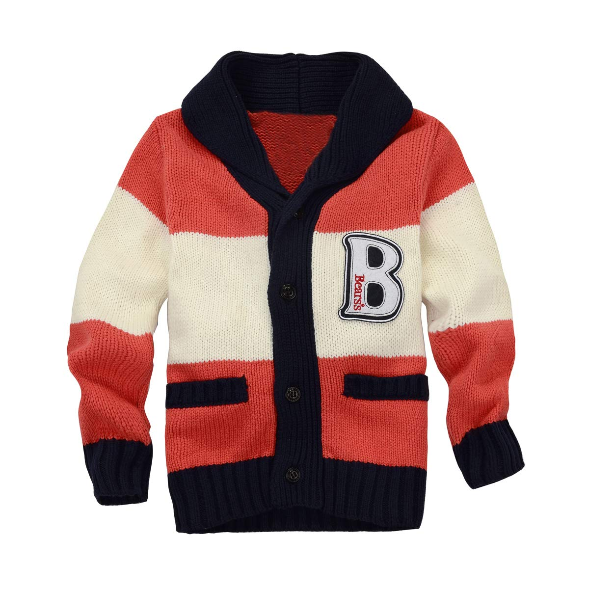 3cb58462e Zebra Fish Toddler Boys Sweaters Boys Button Up Sweater Long Sleeve ...