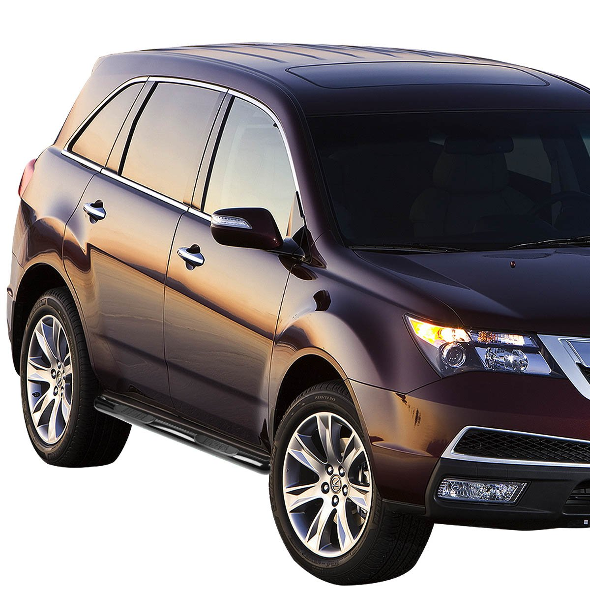 For Acura MDX YD2 3 inches Side Step Nerf Bar Running Board Black