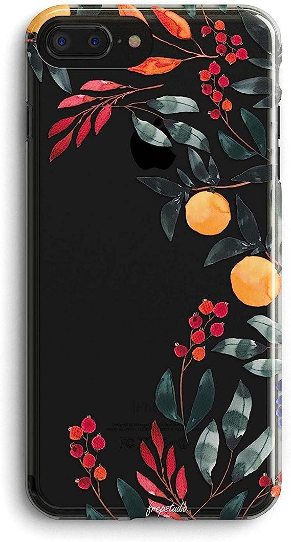 Amazon Com Iphone 8 Iphone 7 Iphone Se 2020 Case Cute Orange