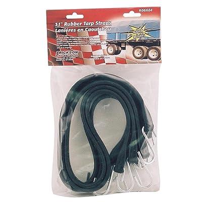 "Erickson 06604 31\"" Long Industrial EPDM Rubber Tarp Straps, (Pack of 4): Automotive [5Bkhe1500980]"