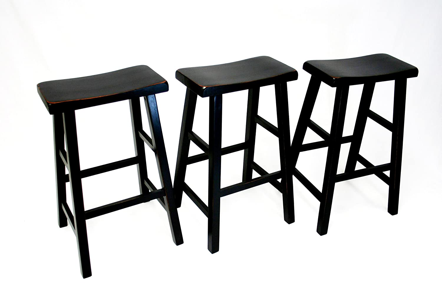 Awesome 24 Inch Saddle Seat Bar Stools Weblabhn Com