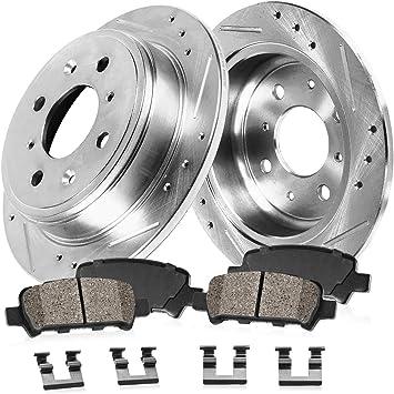 1998-2002 Accord 98-99 CL Rotors w//Metallic Pad OE Brakes |Rear
