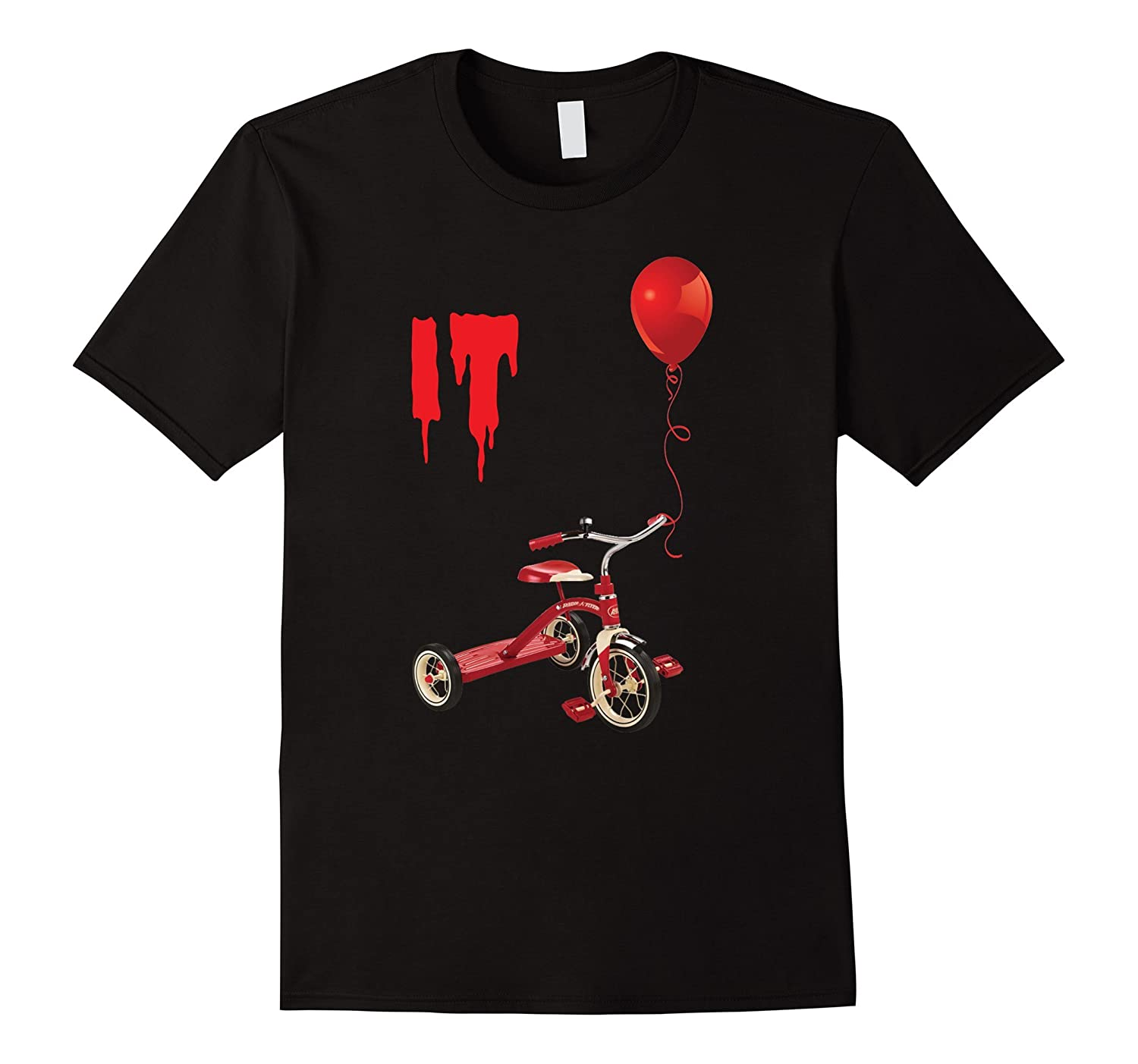 Brand New 2017 Red Balloon Horror Halloween T-shirt-FL