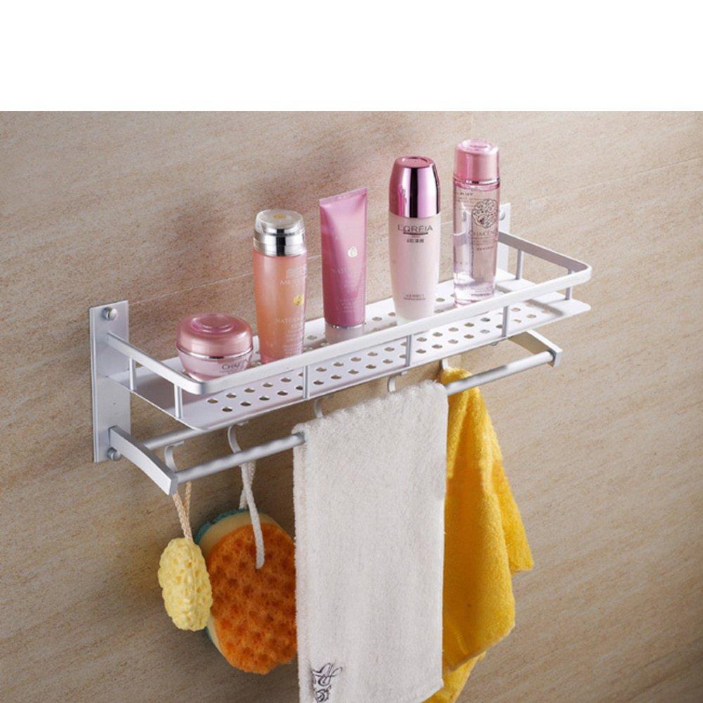 Space aluminum bathroom racks/the shelf in the bathroom/ thick Towel rack-A free shipping