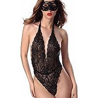 Yuson Girl® Underwear Ladies, Lencería en la noche para mujeres Babydoll Lace Ropa de dormir Conjuntos de lencería Damas…