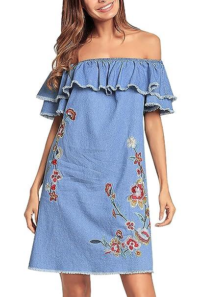 c1032e68d05e7 YAOMEI Vestiti estivi da Donna Casual