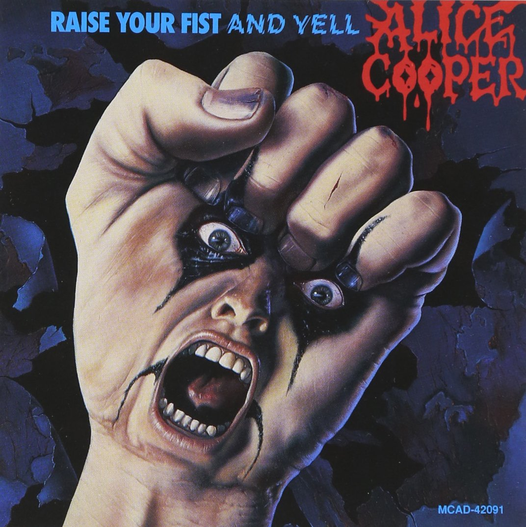 CD : Alice Cooper - Raise Your Fist & Yell (CD)