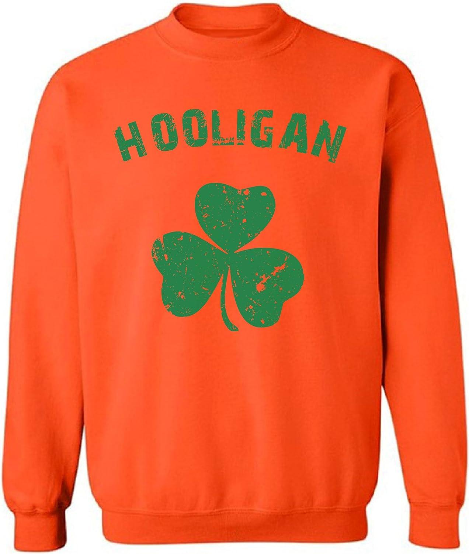 Patricks Day 2018 Pekatees Hooligan Sweatshirt Irish Hooligan Sweaters ST