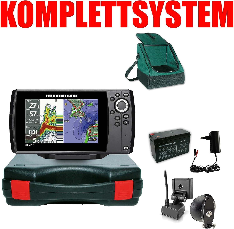 Humminbird Echolot GPS portátil para plotter Basic Plus Completo Helix 7 Chirp GPS G2: Amazon.es: Deportes y aire libre