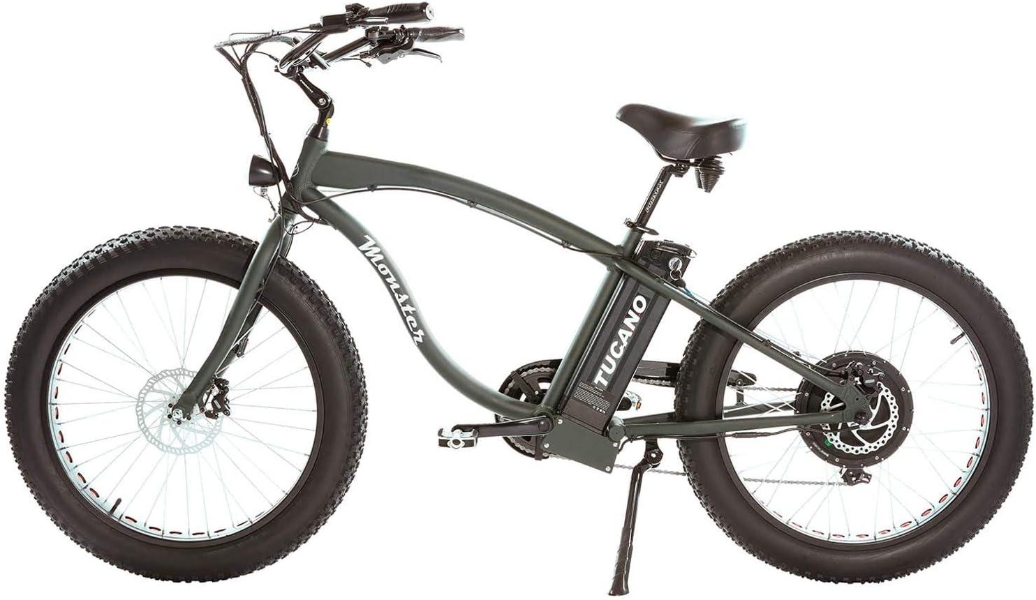 Tucano Monster 26 Naked (Verde). Bicicleta eléctrica 26