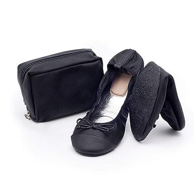 Catmotion Faltbare Bequeme Schuhe In Ihre Handtasche Ballerinas Fur