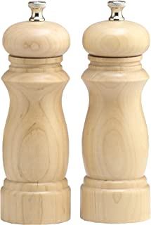 "product image for Chef Specialties 6"" Salem Pepper Mill and Salt Mill Set, Natural"