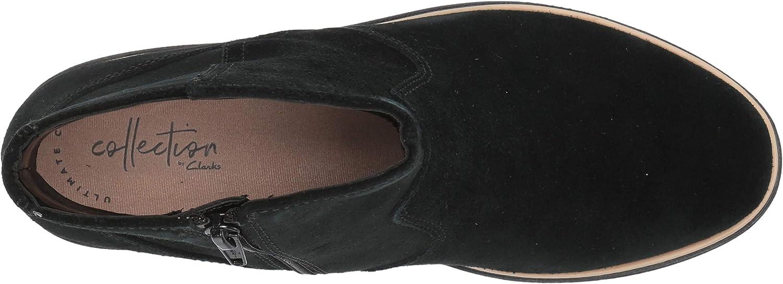 Clarks Sharon Swing tobillo botas Negro Gamuzablack Suede 2ZgMq
