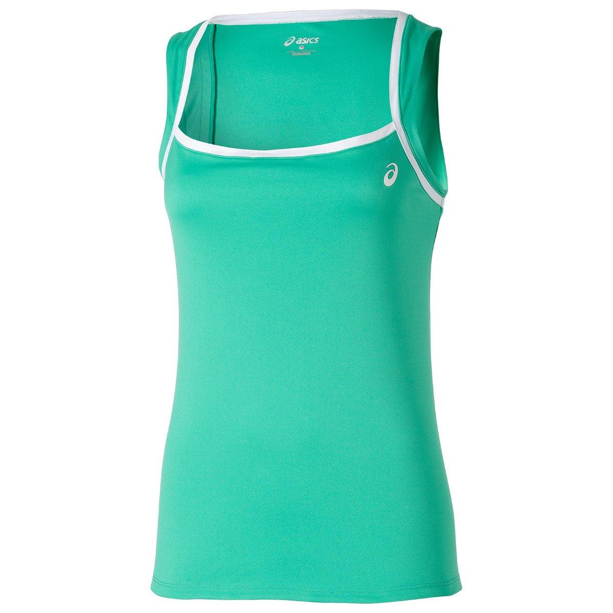 ASICS Camiseta Club Tank Top Verde: Amazon.es: Deportes y ...
