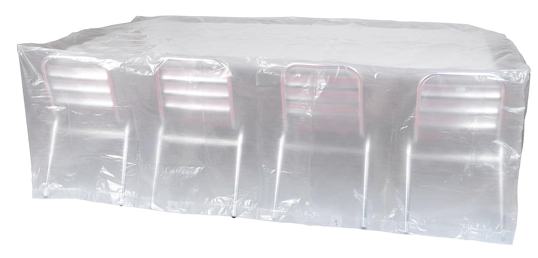 Ribiland 07353 Housse de Table Rectangulaire Transparent 2,20 m ...