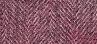 "product image for Weeks Dye Works Wool Fat Quarter Herringbone Fabric, 16"" by 26"", Cherry Vanilla"