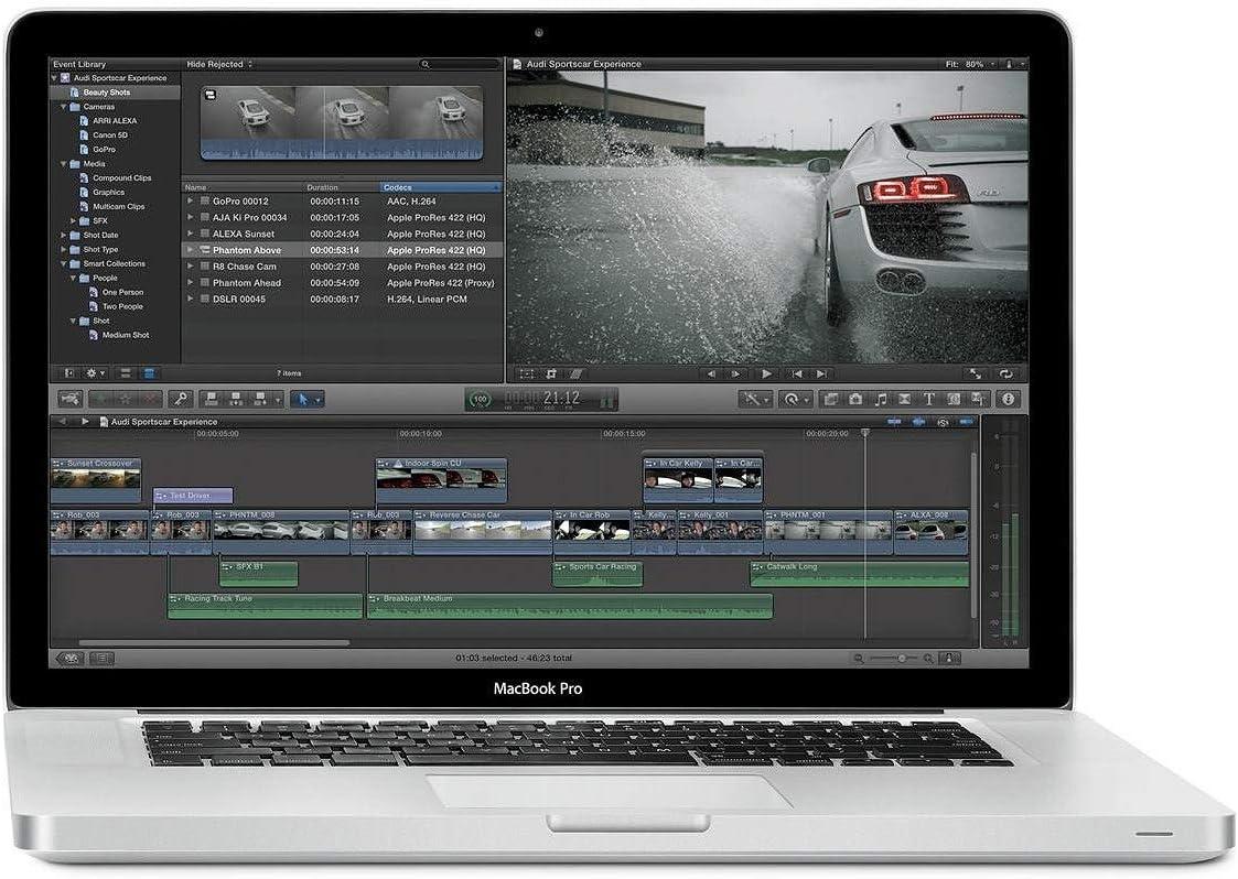 10. Apple MacBook Pro (ME874LL/A): Best Apple Laptop for Students