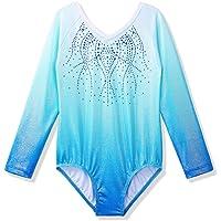 ZNYUNE Lange Mouw Kinderen Gymnastiekpak Turnpak Verloop Meisjes Ballet Danskleding Maillots 3-14 Jaar