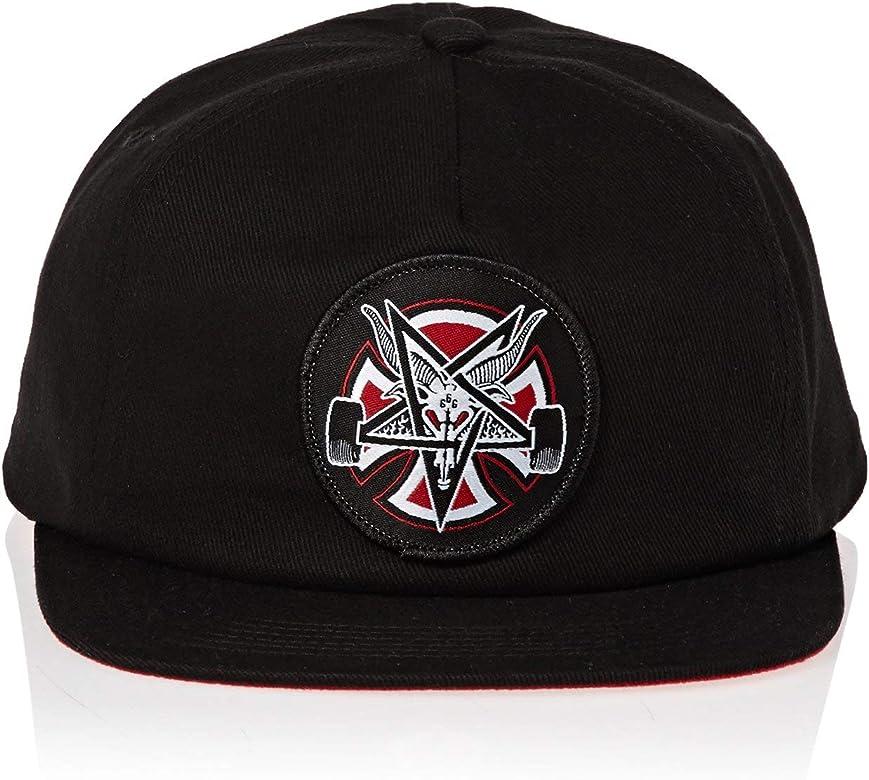 Independent Gorro Snapback Thrasher Pentagram Cross Negro (Default ...