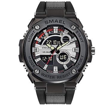 Blisfille Reloj de Fitness Reloj 80 Cm Relojes Deporte Hombre Reloj Original Mujer Relojes Acuaticos Mujer