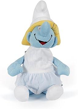 JEWEL FUEL Plush Fabric Smurf Picnic Bag for Kids (JFKDSSMRFBAG01)