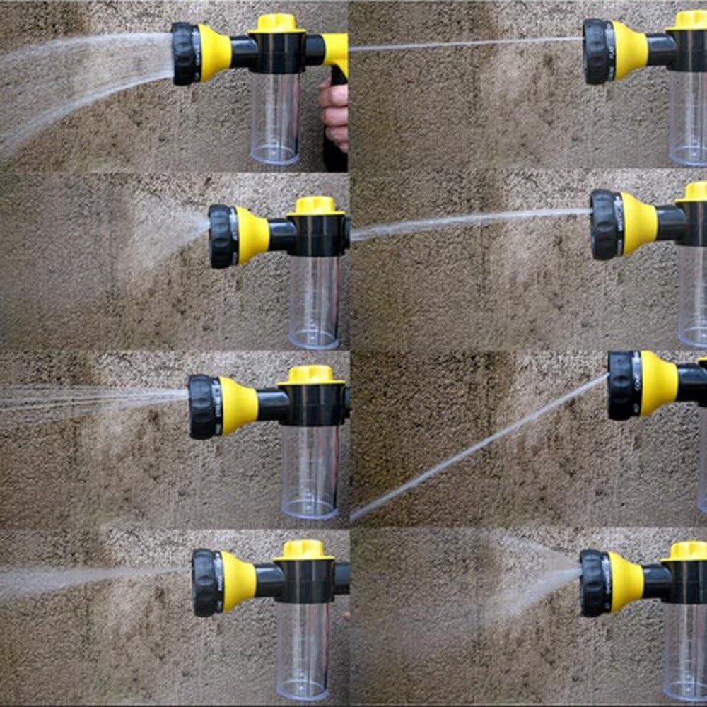LianMengMVP Schaumpistole Hochdruckreiniger Autowaschpistole Wasser Sprayer Autow/äsche Bew/ässerung Auto Schaumspr/üher Schaumd/üse Seifenspender Pistole f/ür Auto Waschen Haustiere Duschanlagen