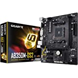 Gigabyte GA-AB350M-DS2 Socket AM4/B350/DDR4 Motherboard - Black