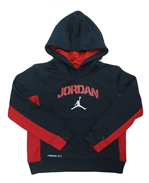 c7911cde17d2c4 Amazon.com  Jordan Air Cool Boys Jumpman Pullover Hoodie (4