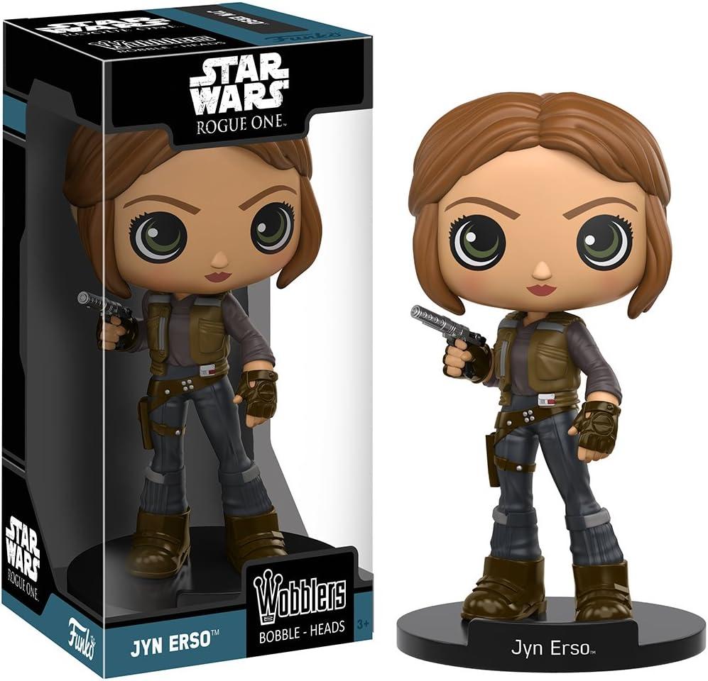 Rogue One New Toys Vinyl Figure Jyn Erso FUNKO WOBBLER: Star Wars