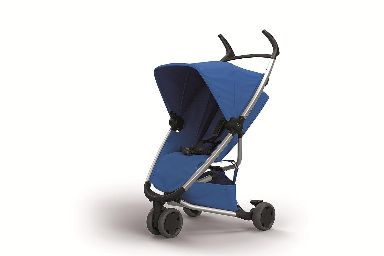 Quinny Zapp Xpress Buggy blau mit Relax-Position leicht und komfortabel kompakt zusammenfaltbar