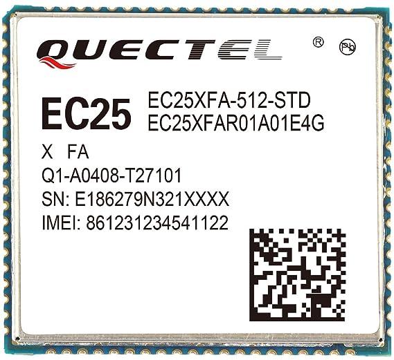 Quectel EC25 IoT/M2M-optimized Cat 4 LTE Module