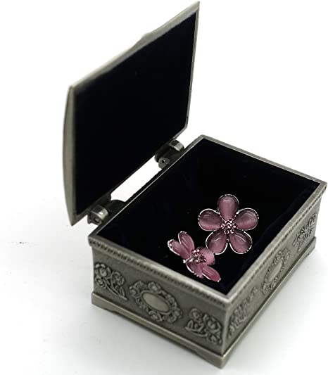 Harry Potter Hermione – de flores pendientes con joyas de caja ...