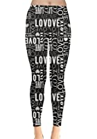 CowCow Womens Red Happy Valentines Day Heart Love Couple Sweet Leggings
