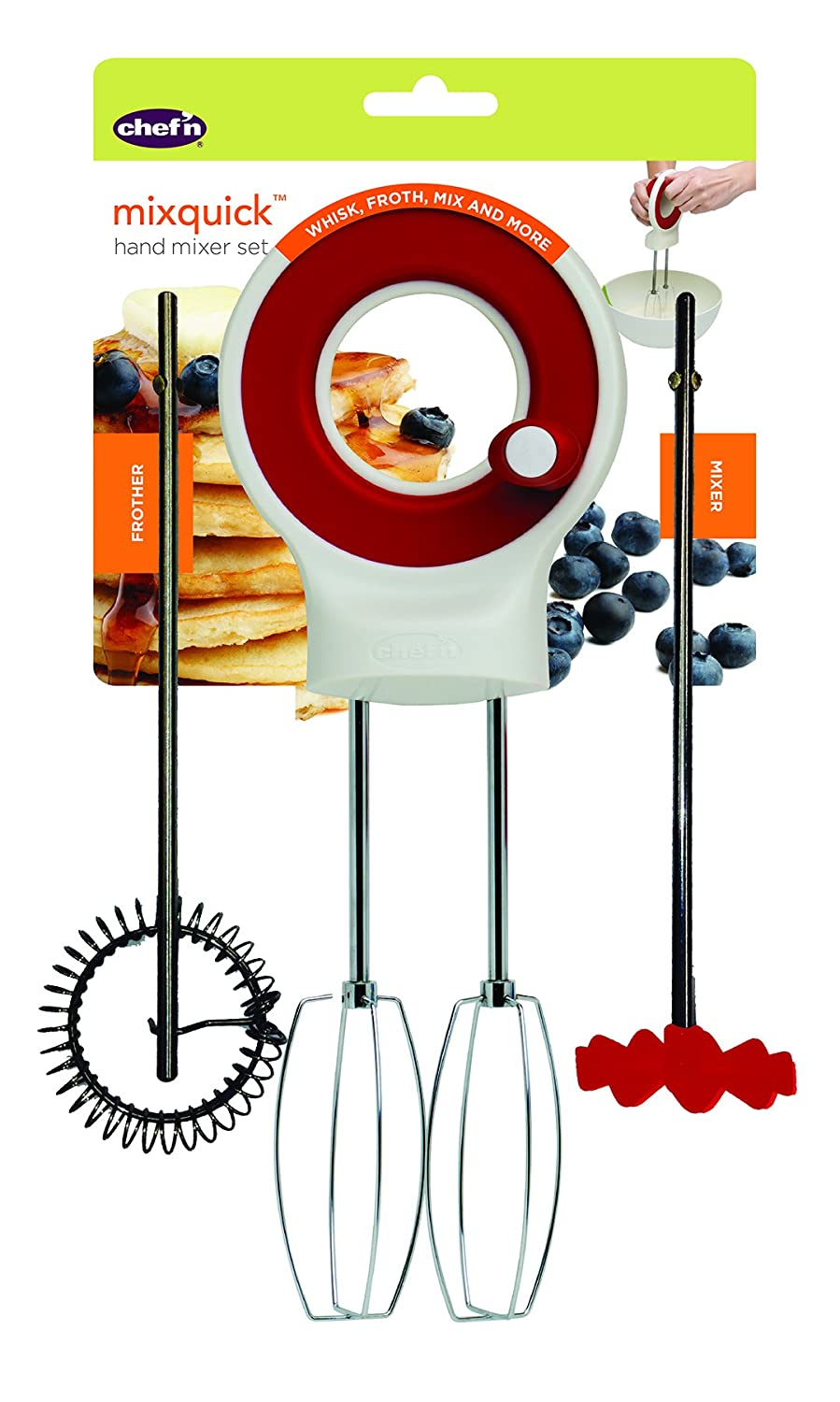 Chef'n Mix Quick Hand Mixer Chef' n 103-660-005