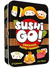 Asmodee Sushi Go, CGSUS01, Jeu d'ambiance
