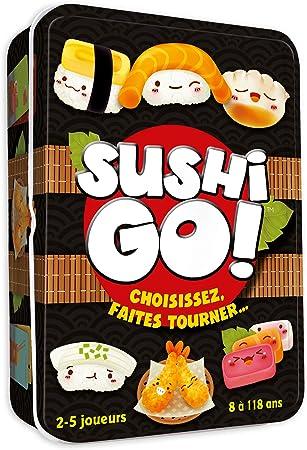 Asmodee- Sushi Go, CGSUS01, Juego de Ambiente: Amazon.es: Juguetes y juegos