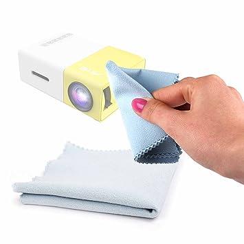 DURAGADGET Gamuza Limpiadora para Proyector ARTLII Mini Projector ...