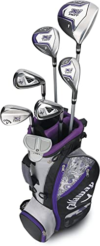 Callaway Girls XJ Hot Junior Kids Golf Club Set