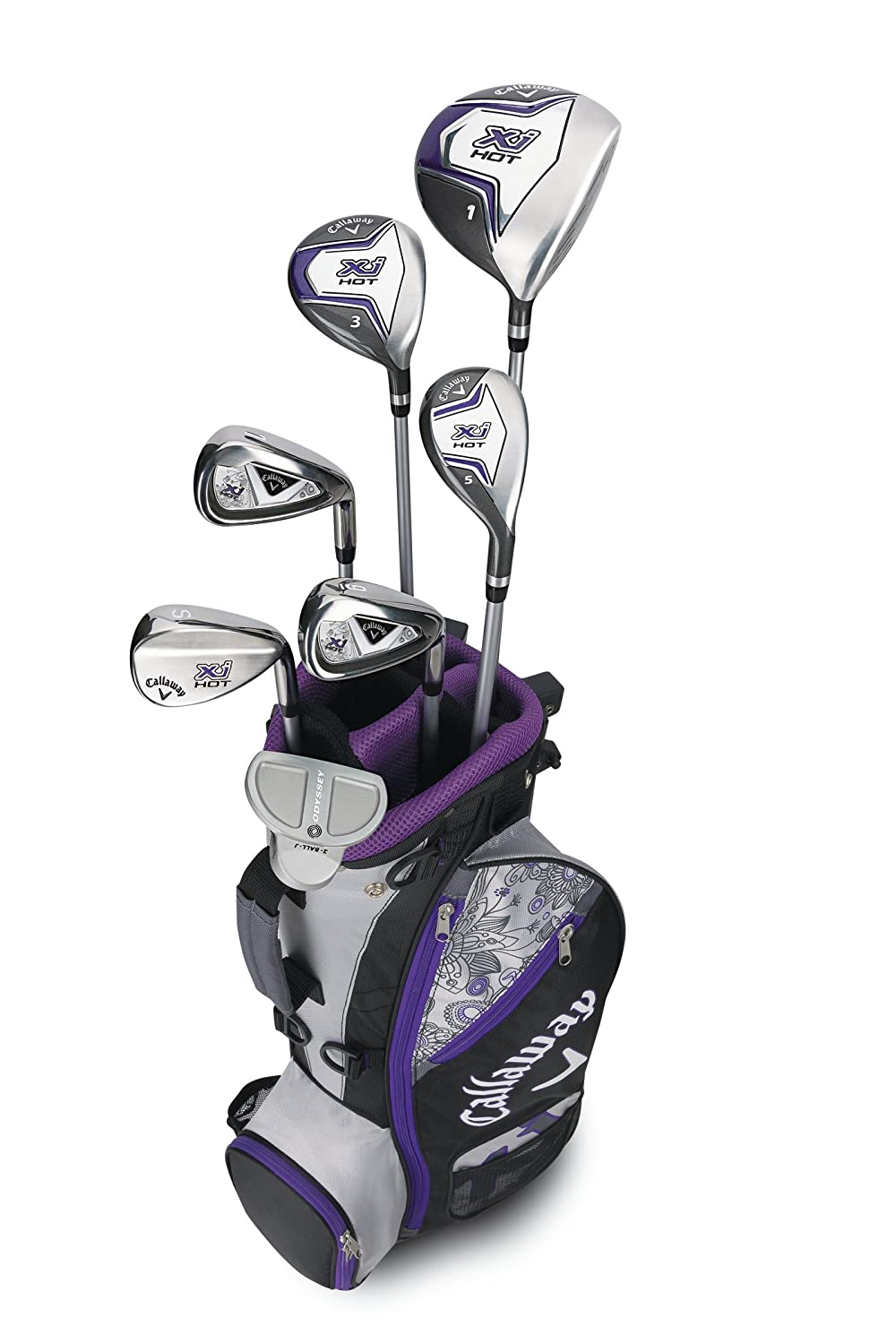 Callaway Xj Junior Hot 9-12 Años Niña - Set de Golf Junior ...