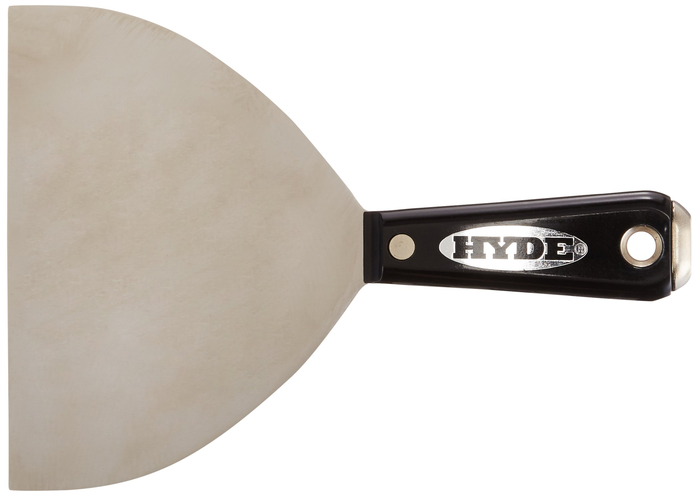 Hyde Tools 01850 Stainless Steel Hammer Head Joint Knife, Black and Silver, 6-Inch by Hyde Tools (Image #1)
