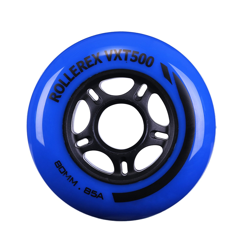2-Pack 80mm Rollerex VXT500 Inline Skate//Rollerblade Wheels