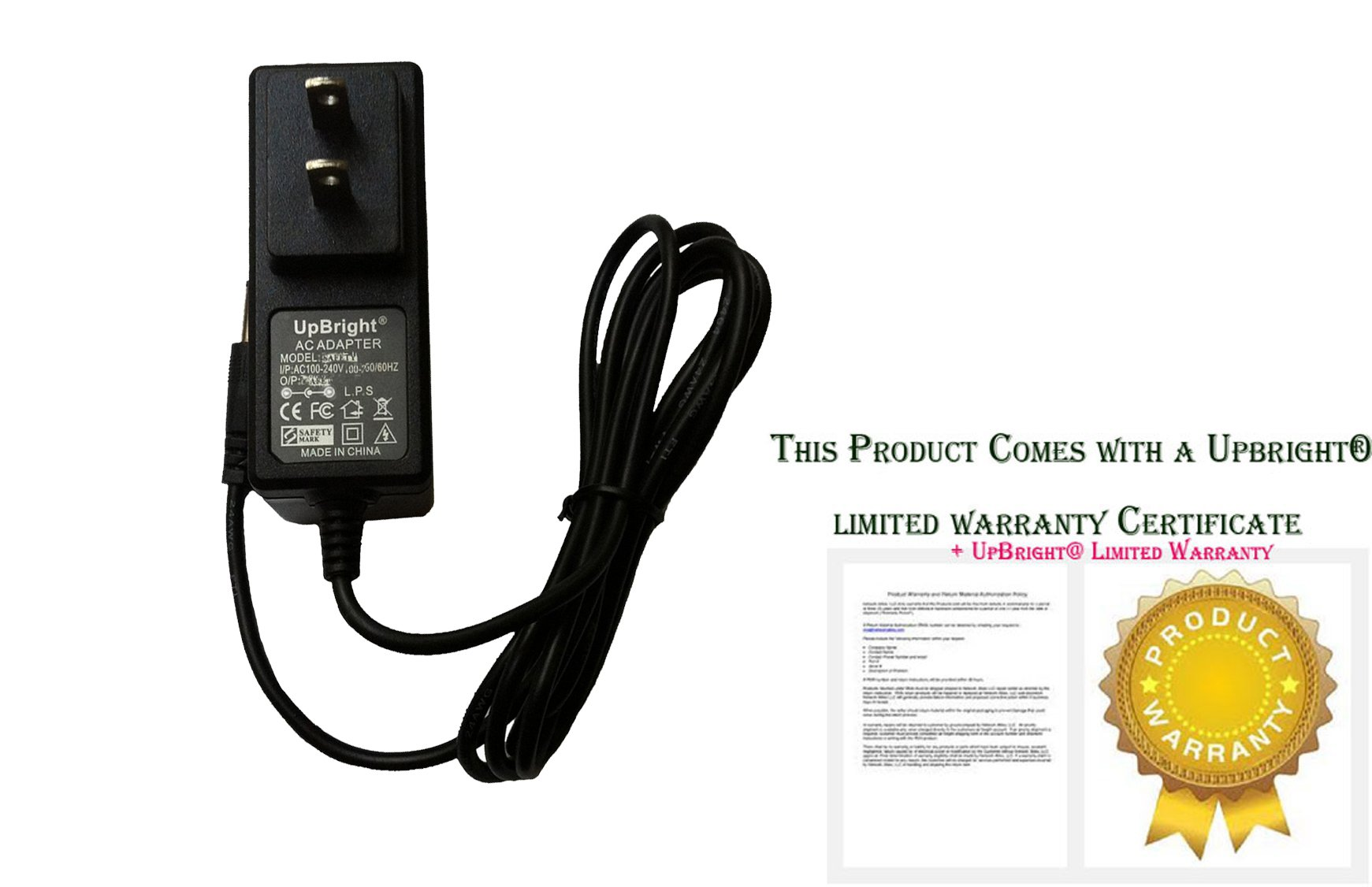 AC Adapter For Light Relief Infrared Pain Relief Device 90LR15LR01 LR150 LR100