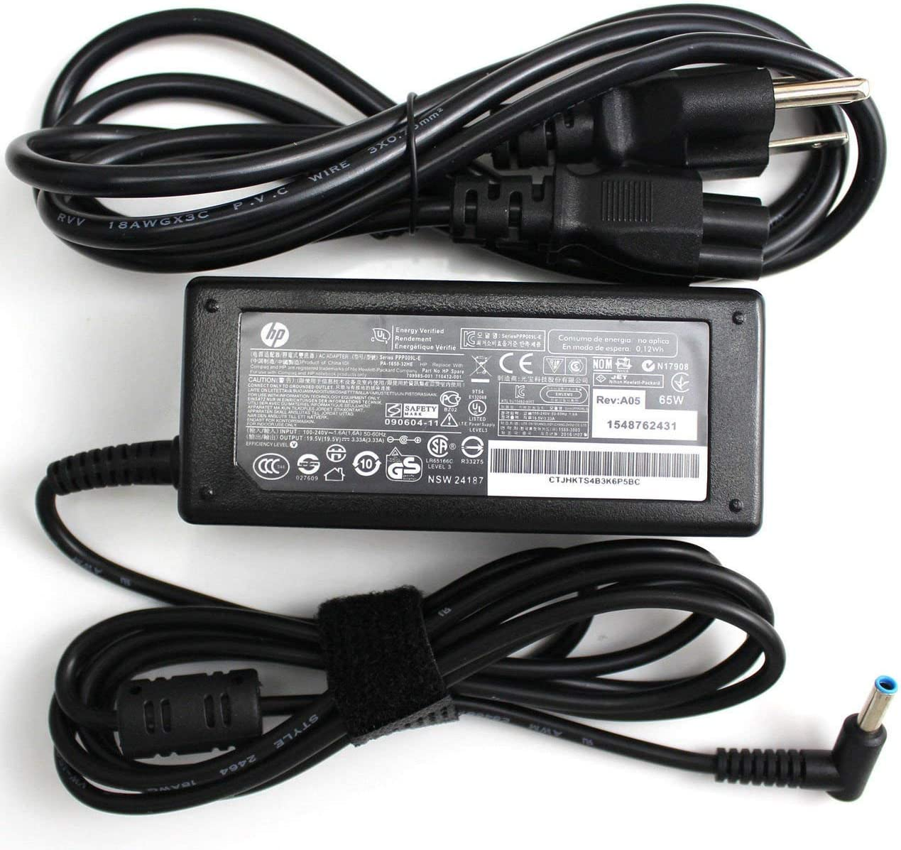 New Genuine HP ENVY TouchSmart Ultrabook 65W 19.5V 3.33A AC Adapter F7Z49AV 710412-001